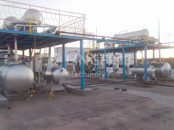 high performance waste oil distillation plant and used engine oil